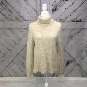 Cream color sweater petite
